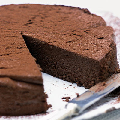 Decadent Chocolate Truffle Torte