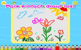 Screenshot of Малыш-художник-BabyBus