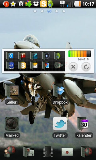 fighter go launcher theme