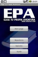 Screenshot of Elige tu propia aventura