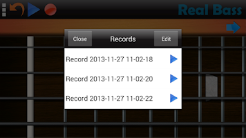 Screenshot of Real Bass