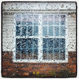 The Closed Window by Sarbk Basu - Instagram & Mobile Android ( water, car, instagram, water drops, edge, window, drop, drops, samsung, note, mobile )