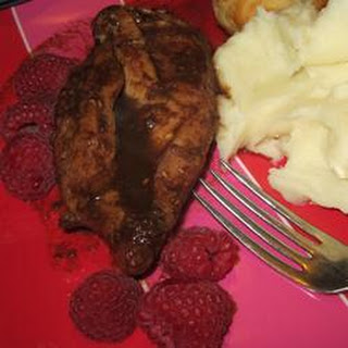 Easy Raspberry Chicken