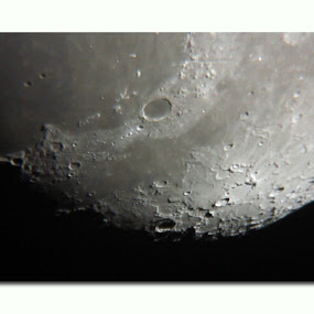 moon by West Aus Storms . - Landscapes Starscapes ( ball, moon, space )