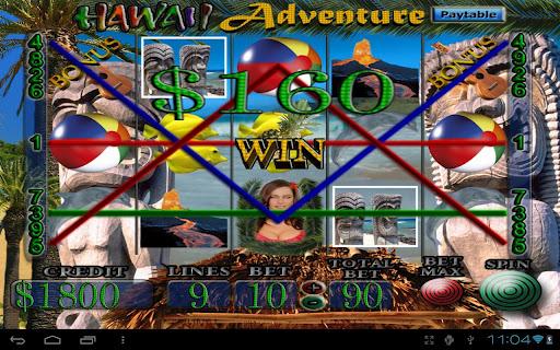 Hawaii Adventure Vegas Slots