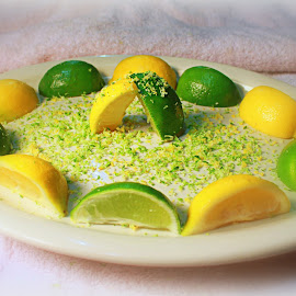 Lemons & Limes by Jordan Chaney - Food & Drink Plated Food ( citrus, food, green, yellow, saturated )