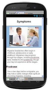 Migraine Headache Information - screenshot