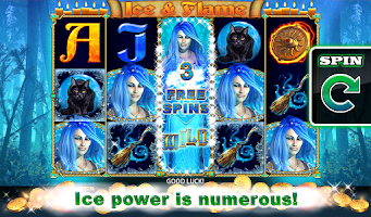 Screenshot of Ice and Flame Slot