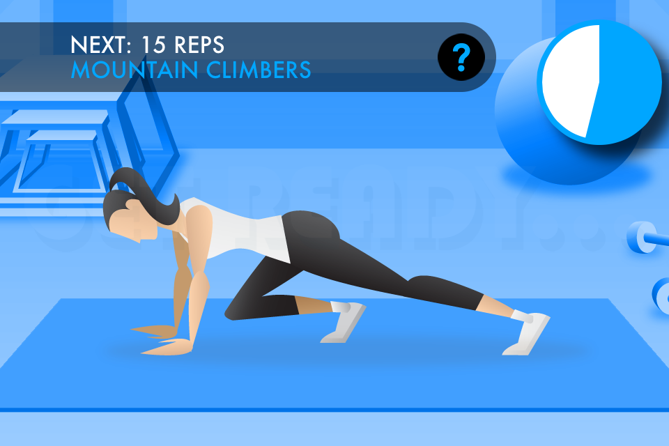 20 Minute Ab Workouts Screenshot 1