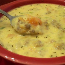 Sausage and Sweet Potato Chowder