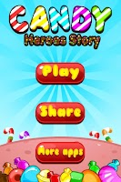 Screenshot of Candy Heroes Story