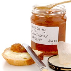 Gooseberry and Elderflower Preserve