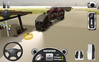 Screenshot of Truck Simulator 3D