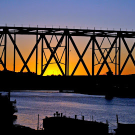 Cincinnati, Ohio by Will Darling - Buildings & Architecture Bridges & Suspended Structures
