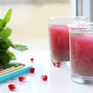 Pomegranate Mint Juice