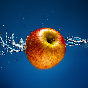 apple splash by Earl Wyant - Food & Drink Fruits & Vegetables