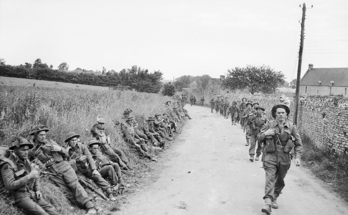 Troops inland near St Gabriel