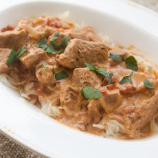 Veal Goulash with Sauerkraut