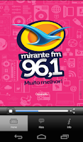 Screenshot of Mirante FM
