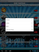 Screenshot of Crazy Ringtones and Wallpapers