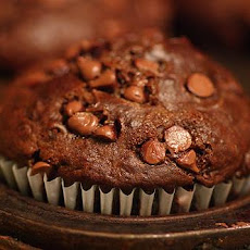 Devil's Food Chocolate Chip Muffins