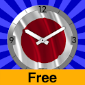 Japan Flag Clock icon