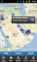 Screenshot of Rotana Hotels