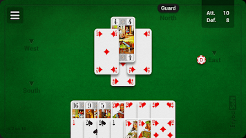 Screenshot of French Tarot