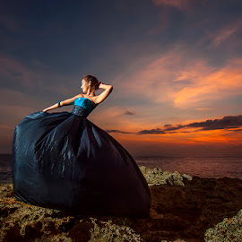 Let's Dance for 2015 by Amin Basyir Supatra - People Fashion ( bali, fashion, sky, girl, sunset, beautiful, beach, beauty, smile, dance, rocks, portrait, colorful, mood factory, vibrant, happiness, January, moods, emotions, inspiration )