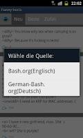 Screenshot of Funny bash texts