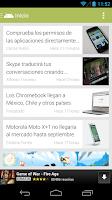 Screenshot of Andro4all beta