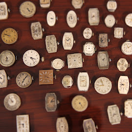 Inside Old Watch by Mark Esslinger - Artistic Objects Jewelry ( wrist watches, several watches, old watch, collection watches, watches, antique watch,  )