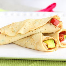 Easy Savory (slightly sweet) Crepes