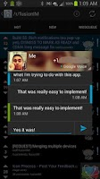 Screenshot of Fusion Messenger