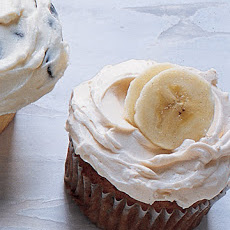 Banana Cupcakes with Caramel Buttercream