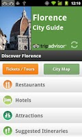 Screenshot of Florence City Guide