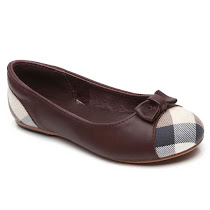 Burberry Burberry Check Slip On LLERINA SHOES