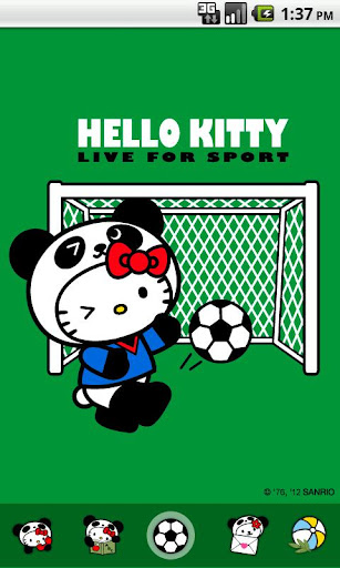 Hello Kitty Live for Sport