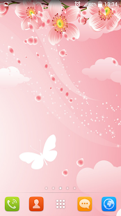Cherry Flowers Live Wallpaper - screenshot