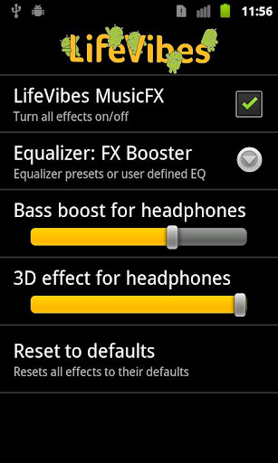 musicfx for android screenshot