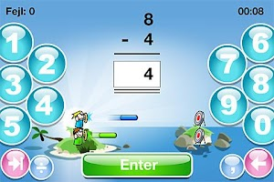 Screenshot of SkoleMat Level 1 gratis