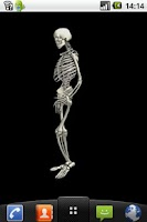 Screenshot of Funny dancing skeletonLWP FREE