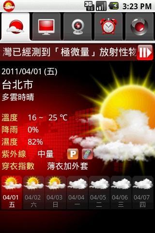 台灣隨身天氣2011
