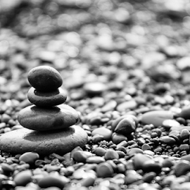 zen by Luca Paramidani - Abstract Patterns ( iceland, b&w, f2.8, minimal, stones )