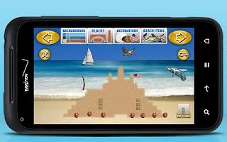 Screenshot of Sand Castle Maker