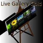 Live Gallery Gold (plus Clock) icon