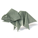 Dinosaur Origami 12