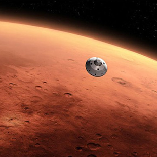 Landing Mars Game - screenshot