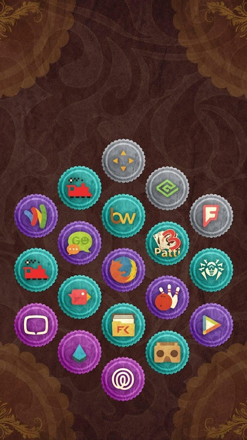 Rusty Icon Pack TSF Nova Apex Screenshot 3
