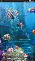 Screenshot of The real aquarium - LWP